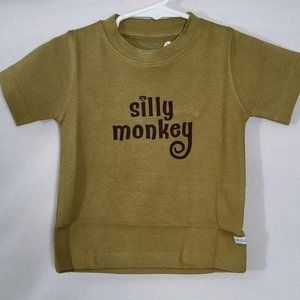 Rugged Butts T-shirt Silly Monkey Top Baby Boy 12M